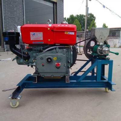 柴油大米玉米膨化机 甘肃车载式休闲食品膨化机 弯管汽油膨化机