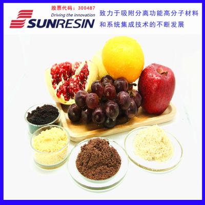 LSA-900E型果蔬汁脱色树脂 脱色后果汁色值稳定