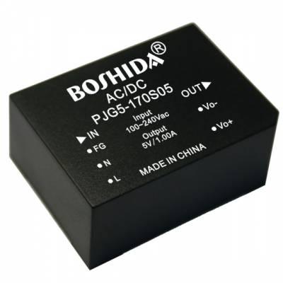 ACDC电源模块2.5w 5w 25w 220转5 220转12稳压隔离BOSHIDA模块电源