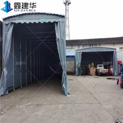 大型可拆卸雨棚 伸缩帆布篷_抗风 江苏东海 短期完工