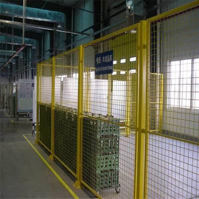 工厂隔离网 车间隔离栅 小区防盗铁网