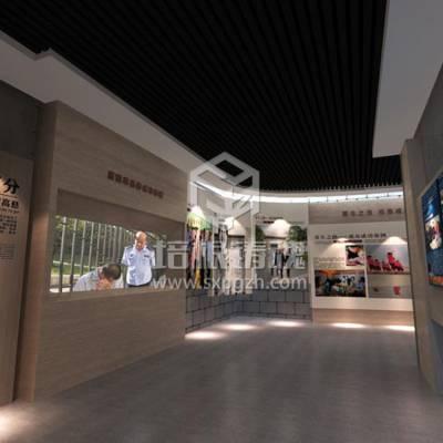 虚拟现实禁毒教育科普展厅布置方案