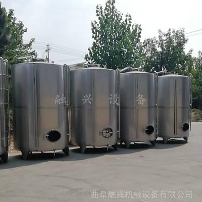 果酒发酵罐批发 不锈钢立式储存罐 融兴
