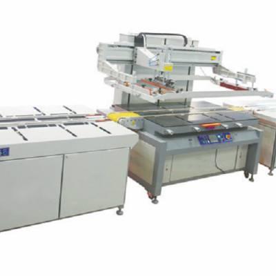 日照市铭牌广告牌丝印机纽扣按键移印机平面丝网印刷机应用广泛