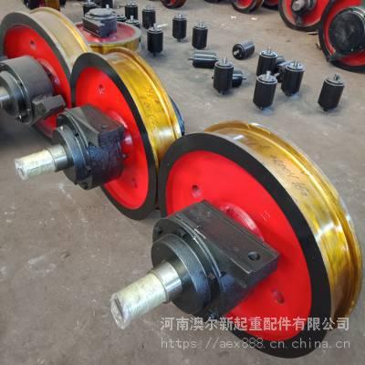车轮组图纸 轨道车轮组 平车车轮 行车车轮